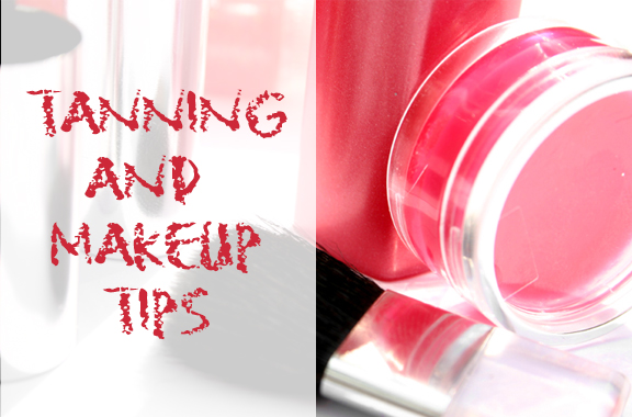 makeup tips to go with a tan