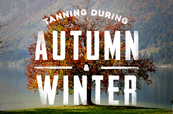 tanning during the fall and winter